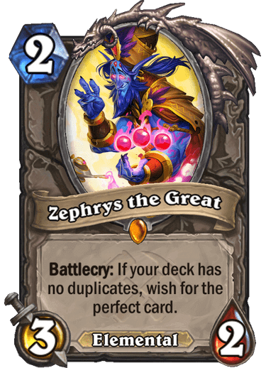 Zephyrs, the Great