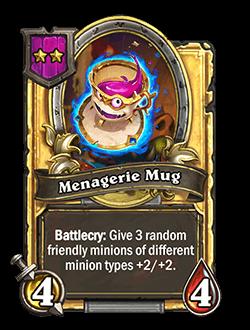 Menagerie Mug Golden