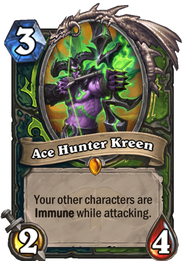 Ace Hunter Kreen