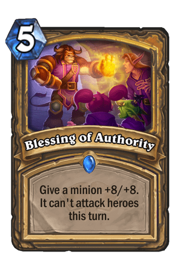 Blessing of Authority