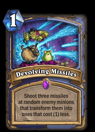 Devolving Missiles