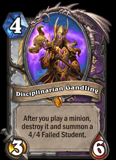 Disciplinarian Gandling