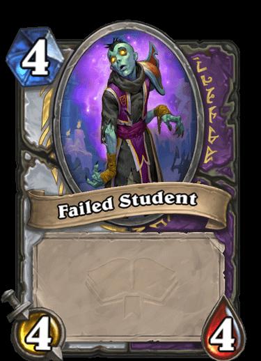 Failed Student