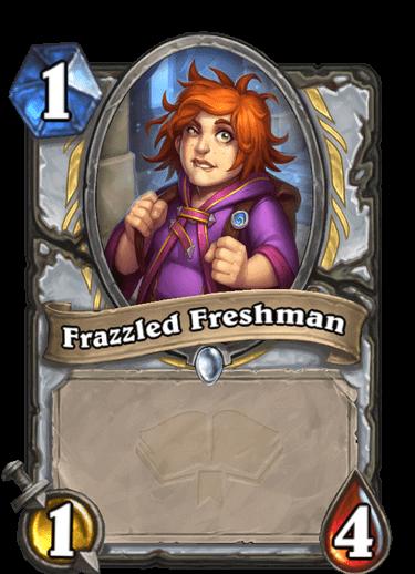 Frazzled Freshman