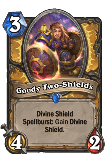 Goody Two Shields