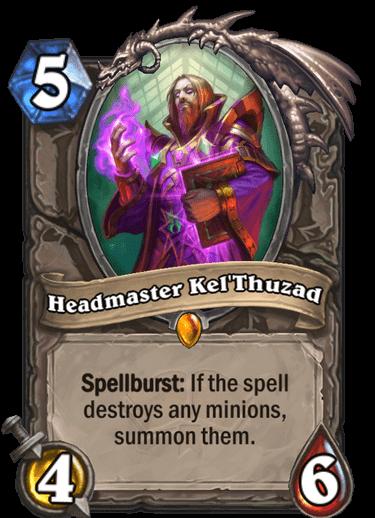 Headmaster KelThuzad