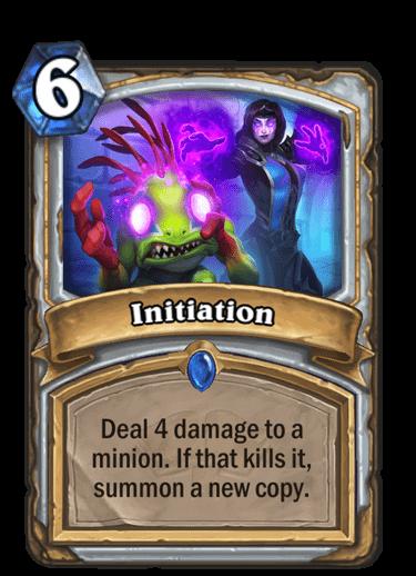 Initiation