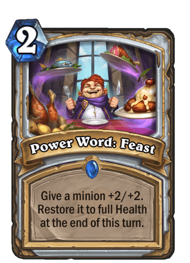 Power Word Feast