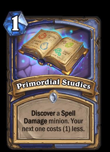 Primordial Studies