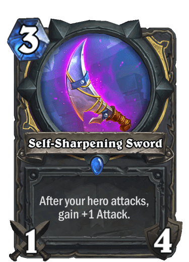 Self-Sharpening Sword