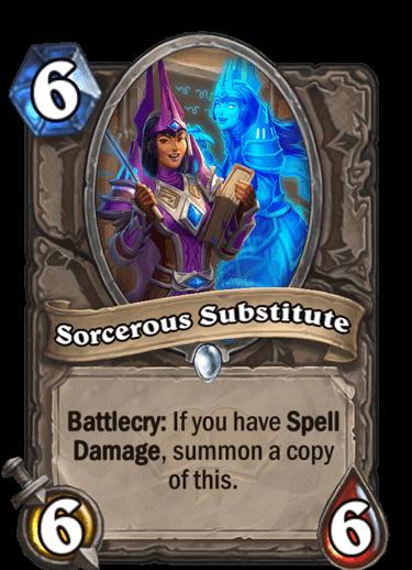 Sorcerous Substitute