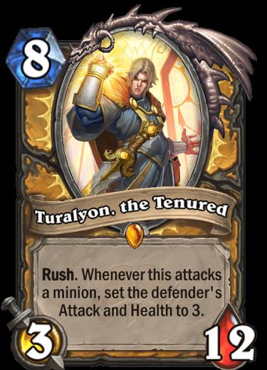 Turalyon the Tenured