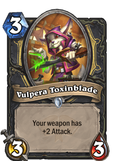 Vulpera Toxinblade