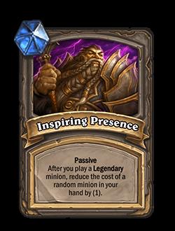 Inspiring Presence