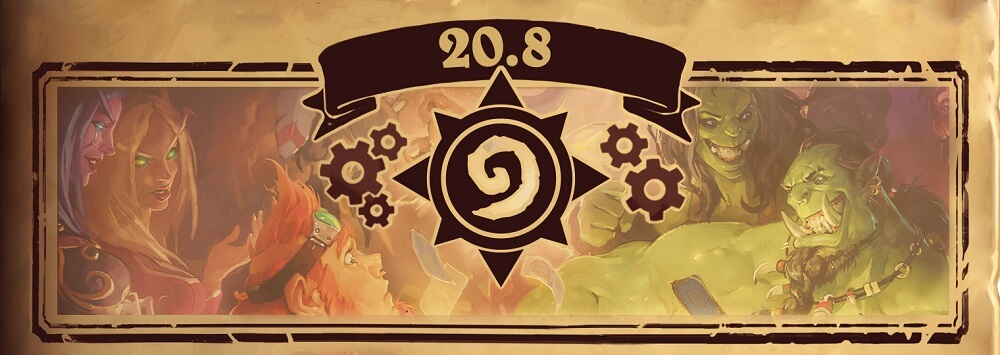 Hearthstone Patch 20.8