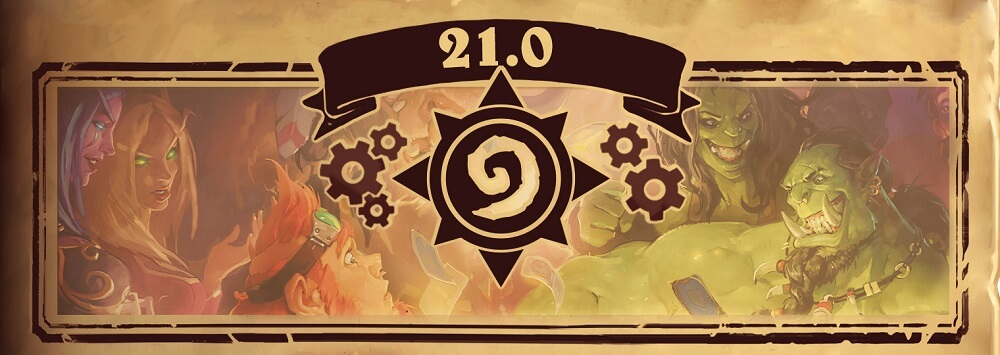 Hearthstone Patch 21.0