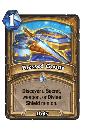 Blessed Goods