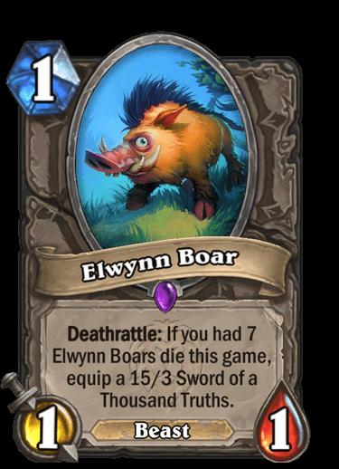 Elwynn Boar