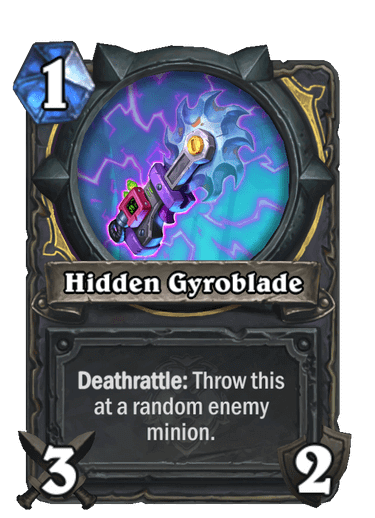 Hidden Gyroblade