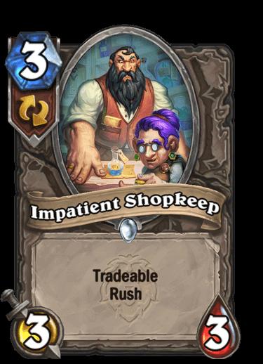 Impatient Shopkeep