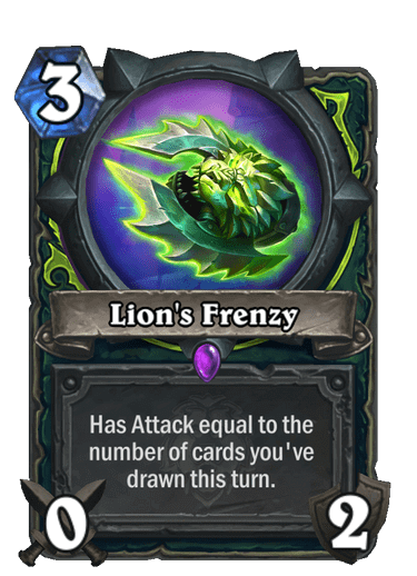 Lions Frenzy