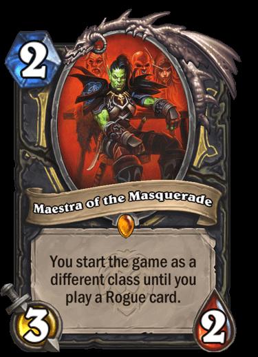 Maestra of the Masquerade