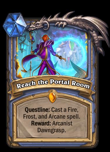 Reach the portal room