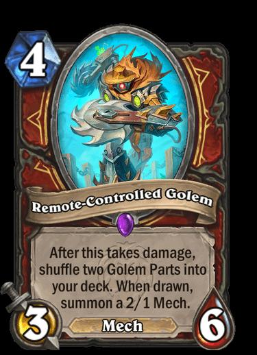 Remote-Controlled Golem