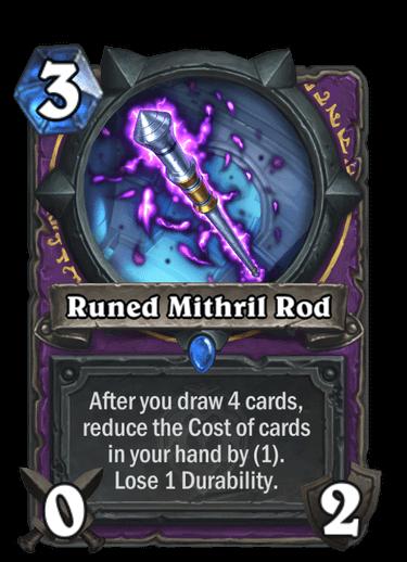 Runed Mithril Rod
