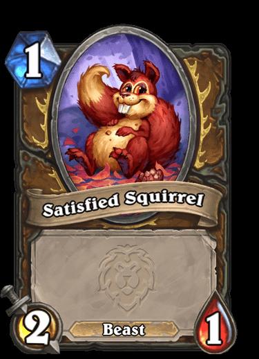 Satisfied Squirrel