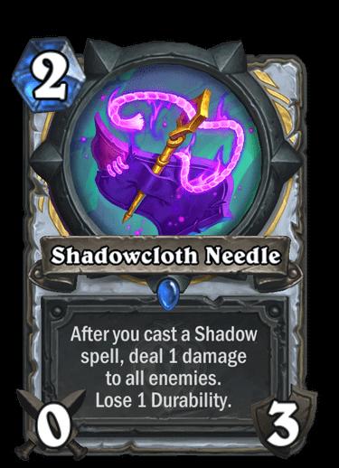 Shadowcloth Needle
