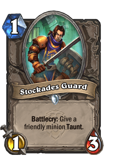 Stockades Guard