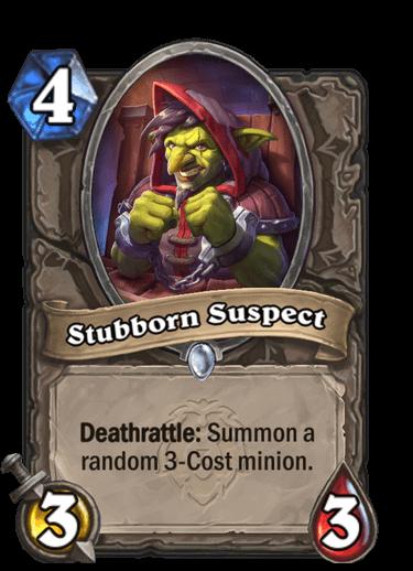 Stubborn Suspect