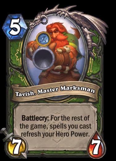 Tavish, Master Marksman