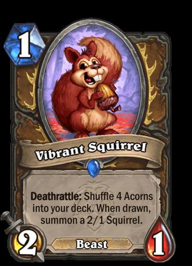 Vibrant Squirrel