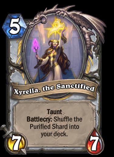 Xyrella, the Sanctified