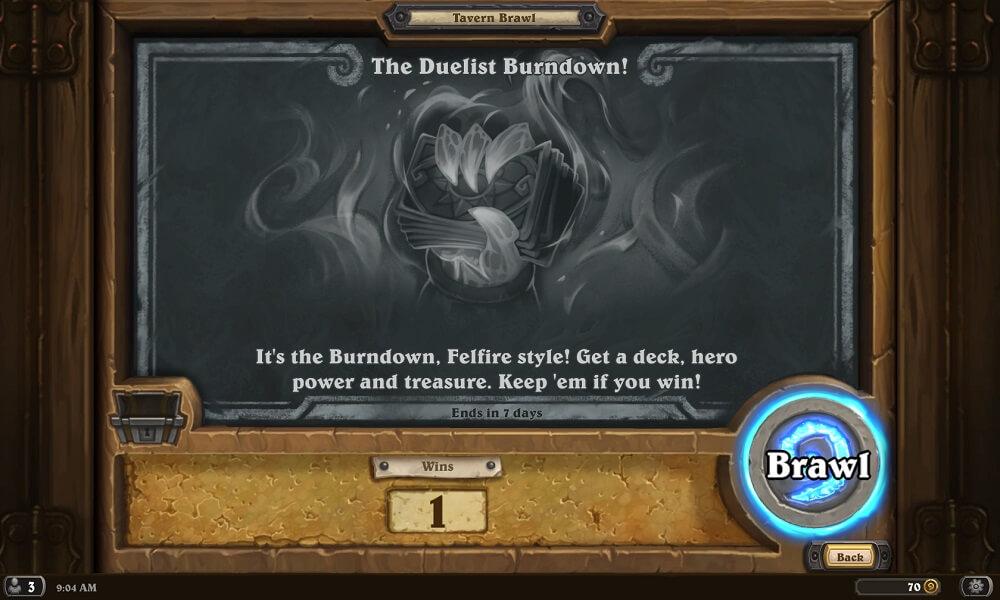 The Duelist Burndown