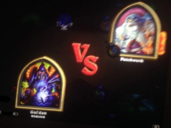 hearthstone guldan vs patchwerk naxxramas