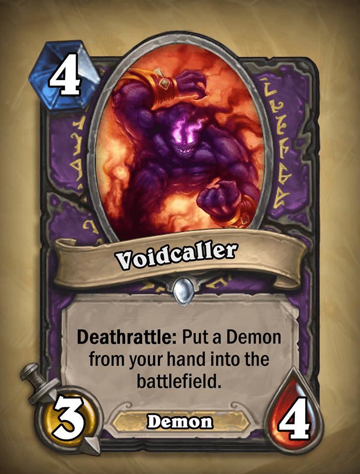 voidcaller warlock card