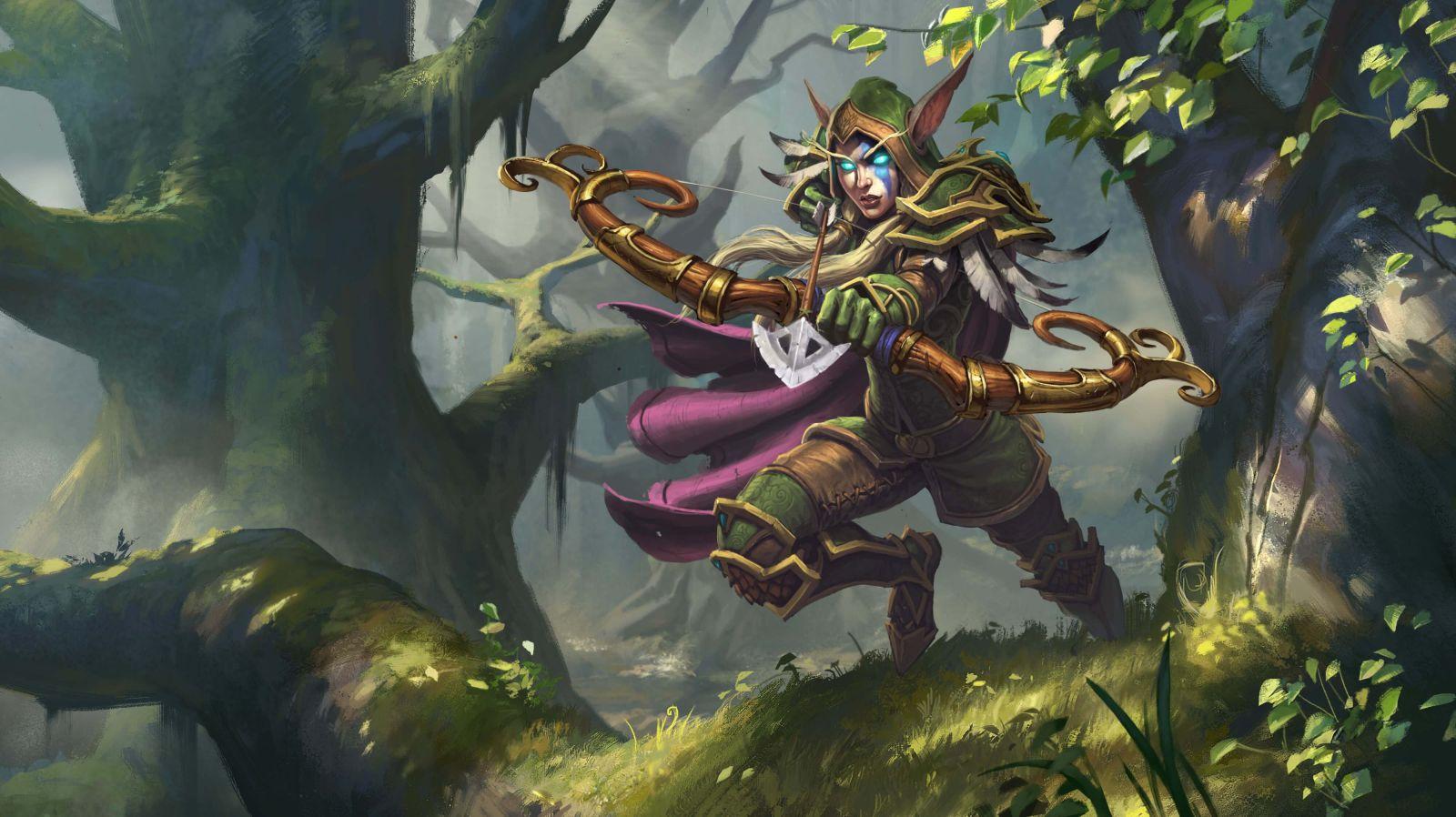 Alleria Windrunner (Hunter hős) és Medivh (Mage hős) (frissítve #2)