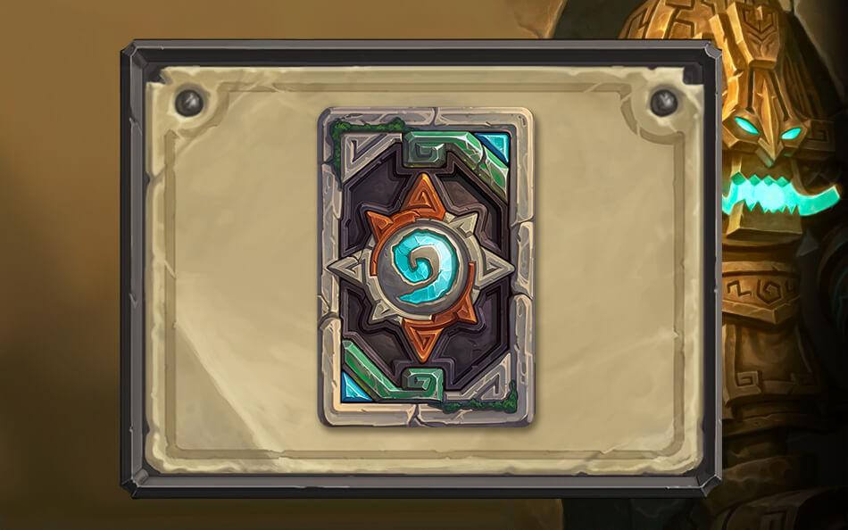 Zuldrak kártya hátlap