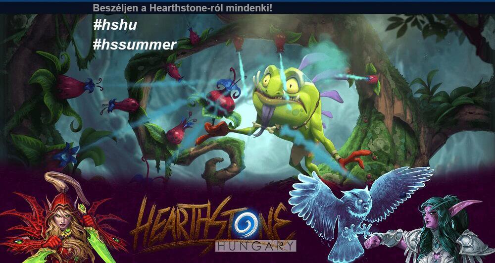 Hearthstone Hungary esemény - Facebook, Twitter, Instagram #HSHU - jutalmakkal