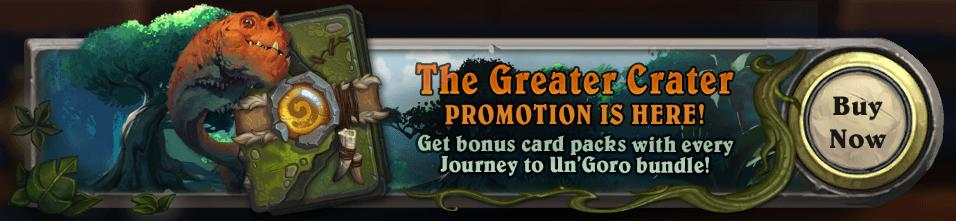 Elkezdődött az Un'Goro kártya csomag promóció