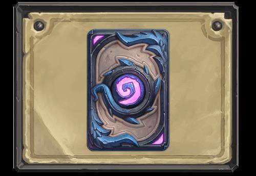 Back in Blue kártya hátlap