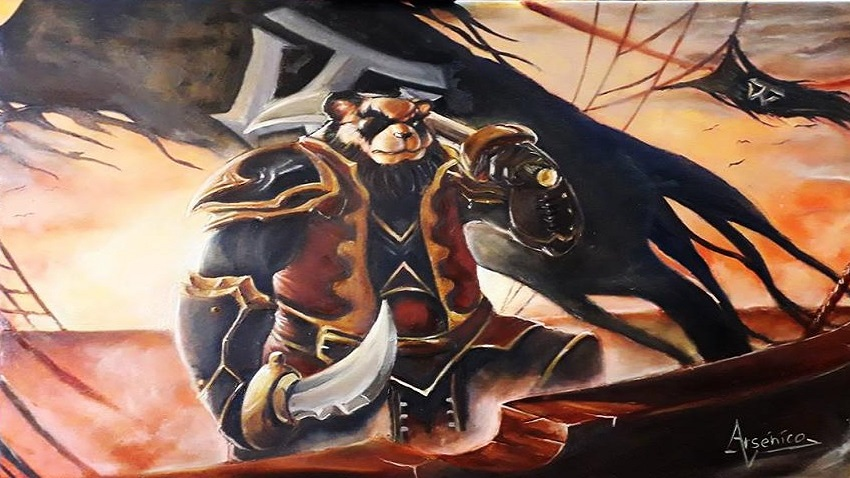 Arsenico Pirate Pandaren