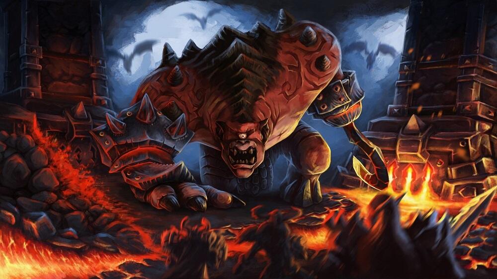 Gruul the Dragonkiller artwork Evgeny
