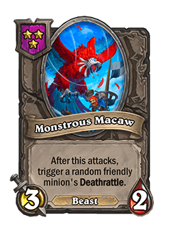 Monstrous Macaw