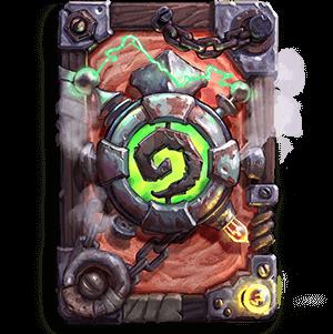 Rusted Legion kártya hátlap