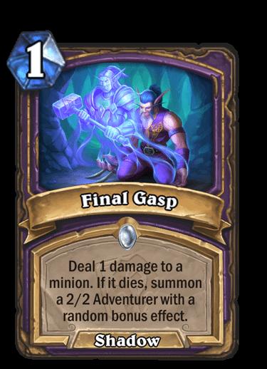 Final Gasp