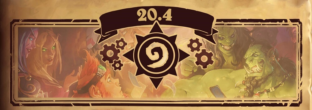 Hearthstone Patch 20.4